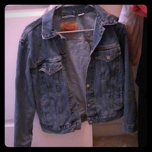 Levi Jean jacket.
